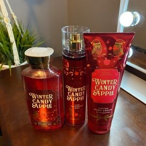 Bath & Body Works Body wash, lotion & spray sets.